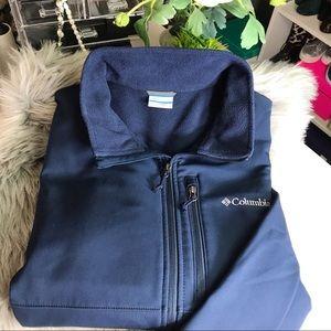 Columbia Softshell Waterproof Fleece Lined Jacket